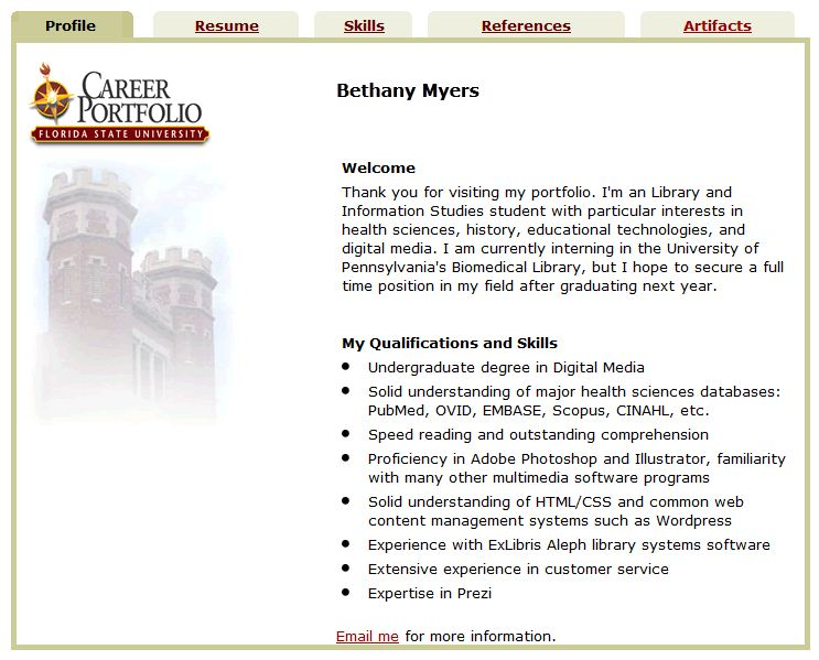 Bethany Myers | The Career Center