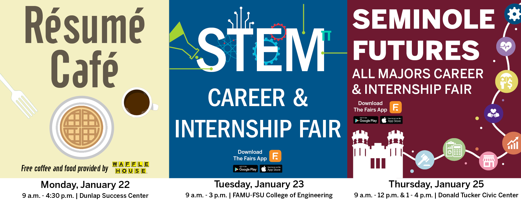 Career Fair Week banner